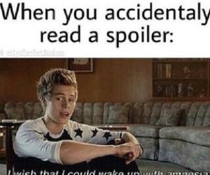 book, spoiler, and amnesia image