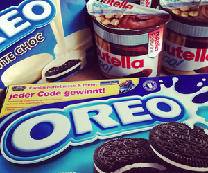 oreo, nutella, and food image