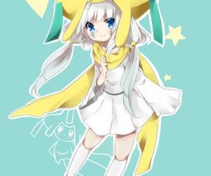 pokemon, jirachi, and anime image