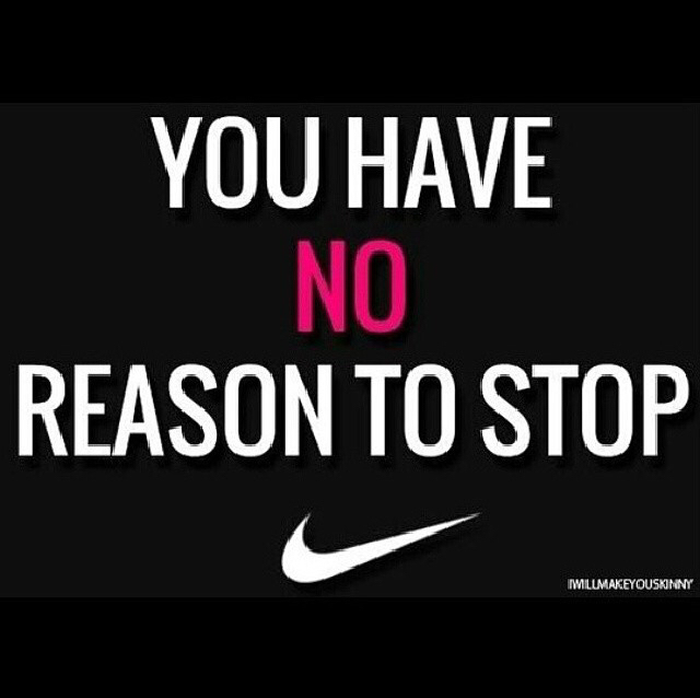 nike, goals, and fitness image