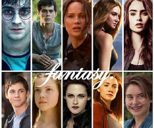harry potter, percy jackson, and city of bones image