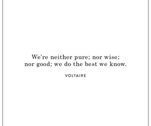 quotes, girl, and voltaire image