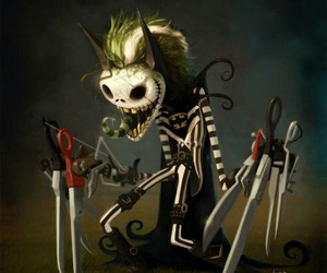 dark, fantasy, and tim burton image