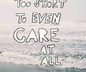 life, quotes, and care image