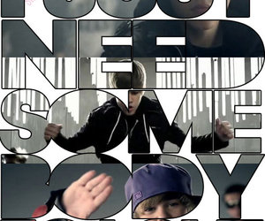 justin, bieber, and somebody to love image
