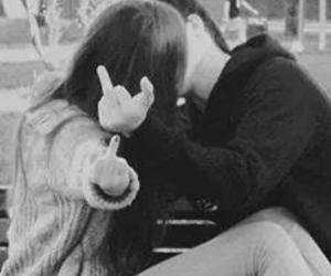 adorable, kiss, and couple image