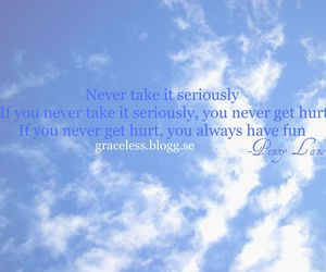 blue, penny lane, and quotes image