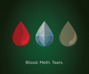 breaking bad, blood, and tears image