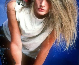 blonde, skid row, and sebastian bach image