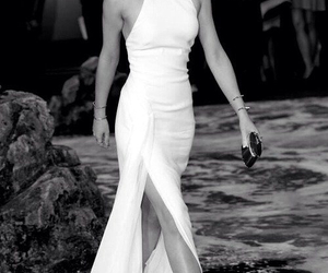 emma watson, dress, and white image