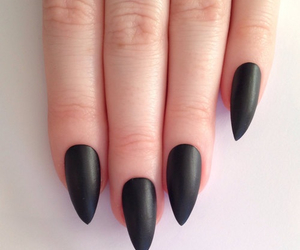 beautiful, fingers, and black image