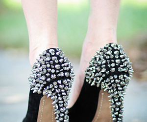 shoes, high heels, and black image