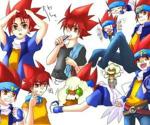 anime, cute, and beyblade metal fight image
