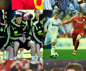 fernando torres, sergio ramos, and real madrid image