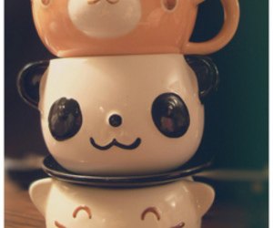 panda, cute, and kawaii image
