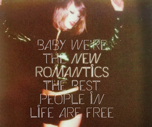 1989, Taylor Swift, and new romantics image