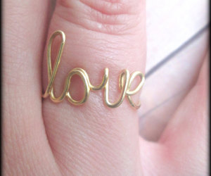 weddings, love ring, and valentines day gift.love image