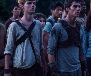 newt, dylanobrien, and tomas image