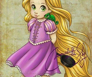 disney, rapunzel, and princess image