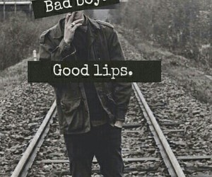 boy, bad boy, and lips image