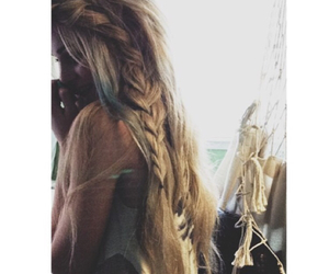 beauty, blonde, and braid image