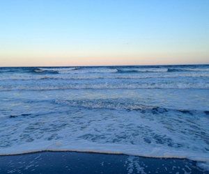 beach, relax, and ocean image
