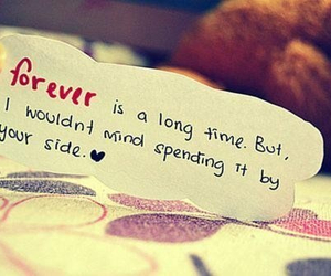 forever, qoutes, and love image