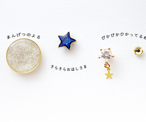 earings, lolita, and stars image