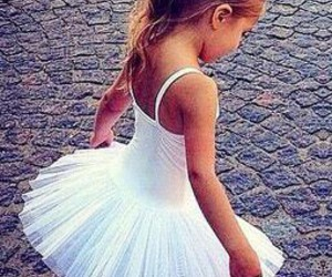 adorable, ballet, and dress image