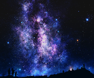 stars, galaxy, and sky image