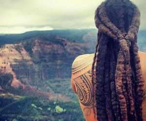 boy, hippie, and tattoo image