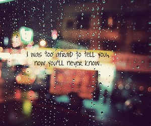rain, quote, and text image