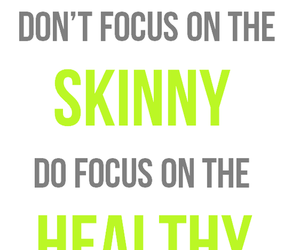 quotes, healthy, and fit image