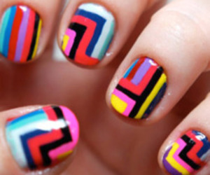 nails, pattern, and strips image