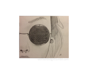 chanel, drawing, and glasses image