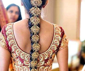 indian, hair, and india image