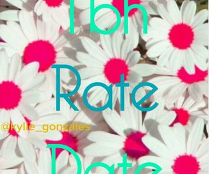 date, rate, and tbh image