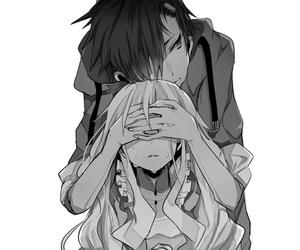 anime, seto, and anime couple image