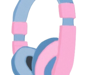 girly, hipster, and music image