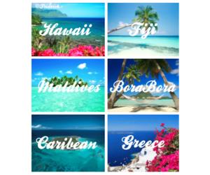 beautiful, fiji, and Greece image