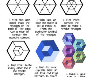 cool, hexagon, and how image