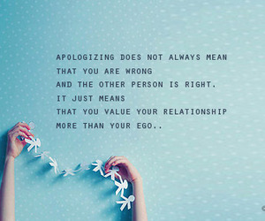 apologize, text, and quote image