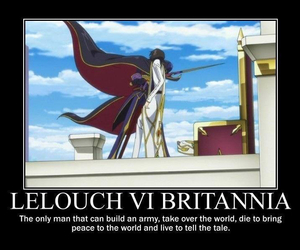 code geass and lelouch vi britannia image