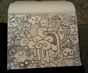 cool, creative, and doodles image
