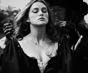 pirates of the caribbean, keira knightley, and pirates image
