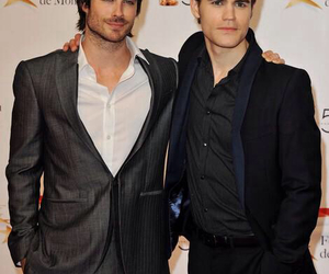 ian somerhalder, paul wesley, and love image