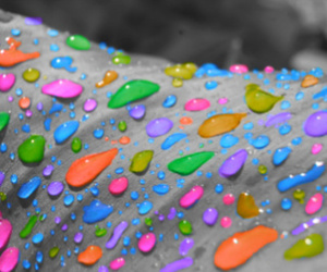 color splash, droplets, and water image