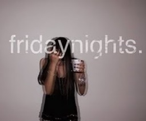 friday, night, and party image