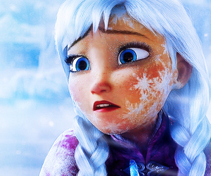 frozen, anna, and olaf image