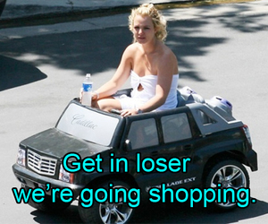 shopping, car, and funny image